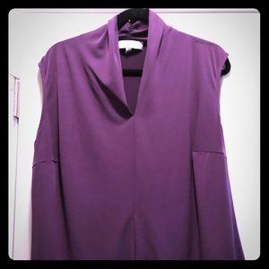 2for $20 Jones of New York plum sleeveless blouse